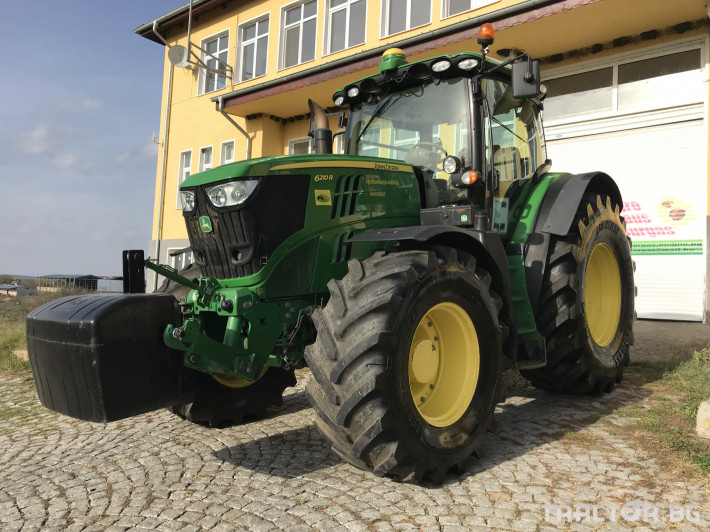 Трактори John-Deere 6210R НАВИГАЦИЯ + УПРАВЛЕНИЕ ЛИЗИНГ 2