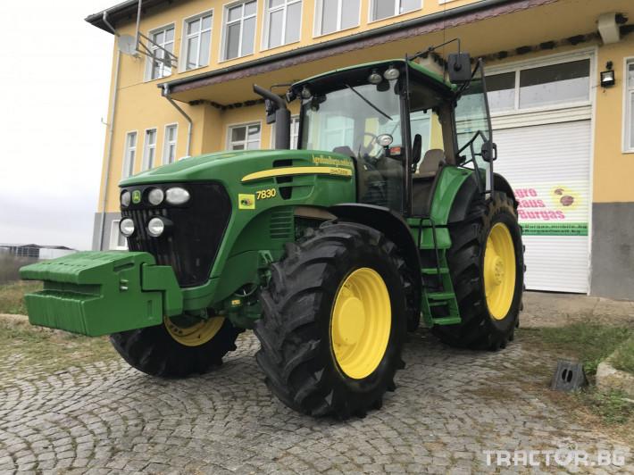 Трактори John-Deere 7830 POWER QUAD ЛИЗИНГ 2