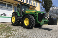John-Deere 8330 POWER SHIFT НОВИ ГУМИ ЛИЗИНГ